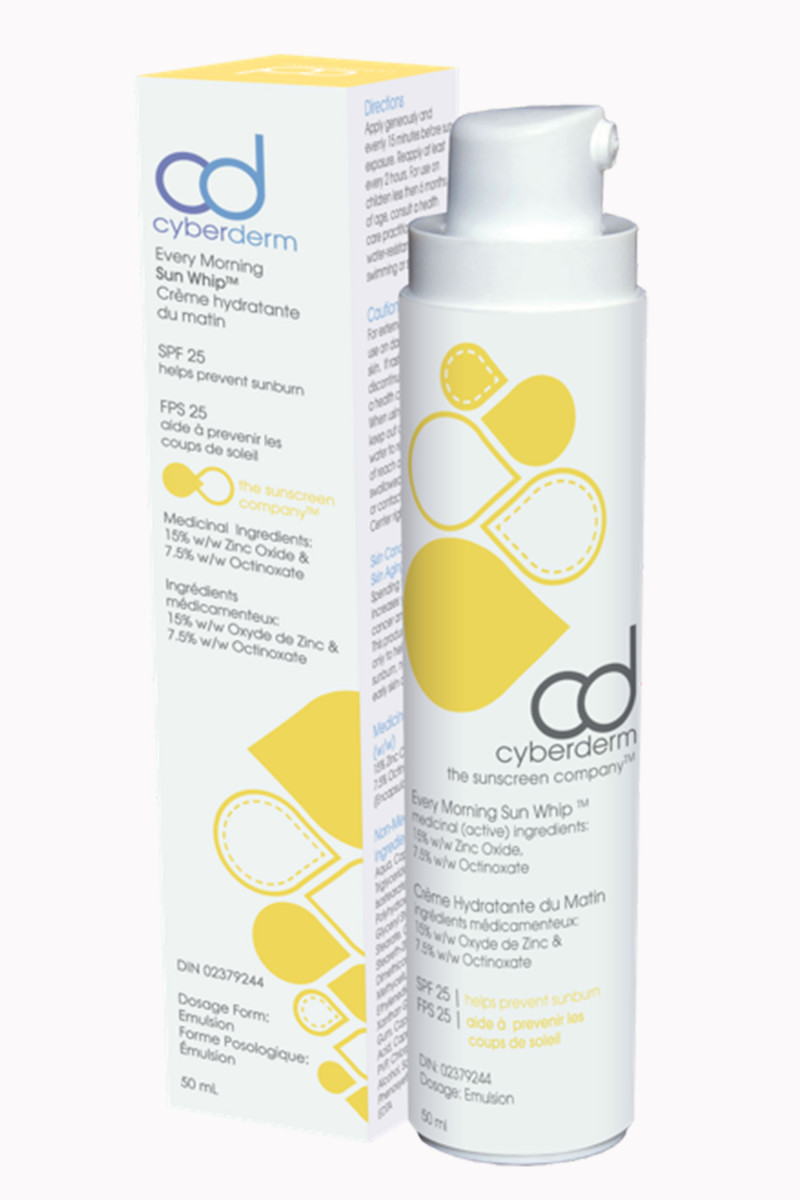 Cyberderm Every Morning Sun Whip SPF 25