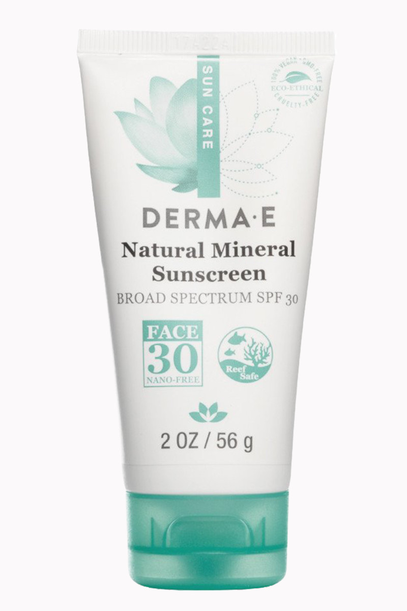 Derma E Natural Mineral Sunscreen Broad Spectrum SPF 30 Oil-Free Face