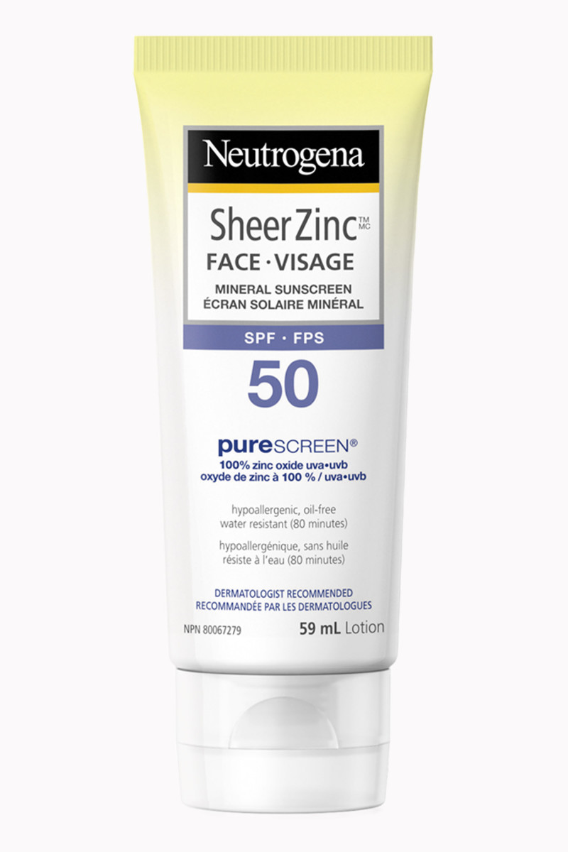Neutrogena Sheer Zinc Face SPF 50