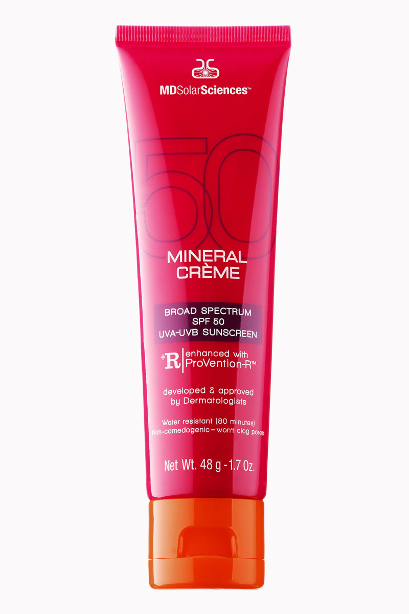 MDSolarSciences Mineral Creme Broad Spectrum SPF 50 UVA-UVB Sunscreen