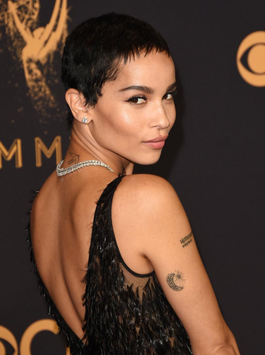 Zoe Kravitz, Emmy Awards, 2017
