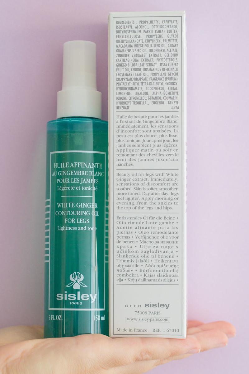 Sisley White Ginger Contouring Oil for Legs