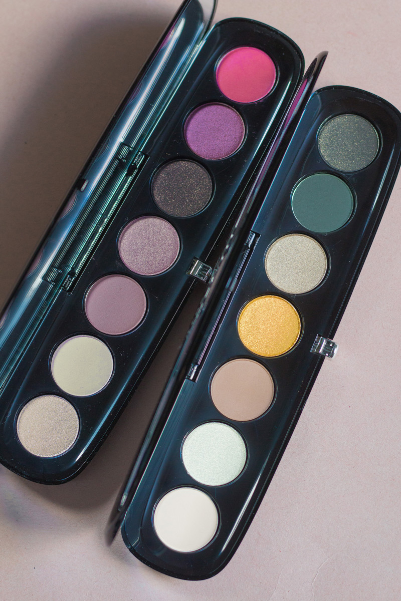Marc Jacobs Eye-Conic Multi-Finish Eyeshadow Palette in 710 Provocouture and 750 Edgitorial