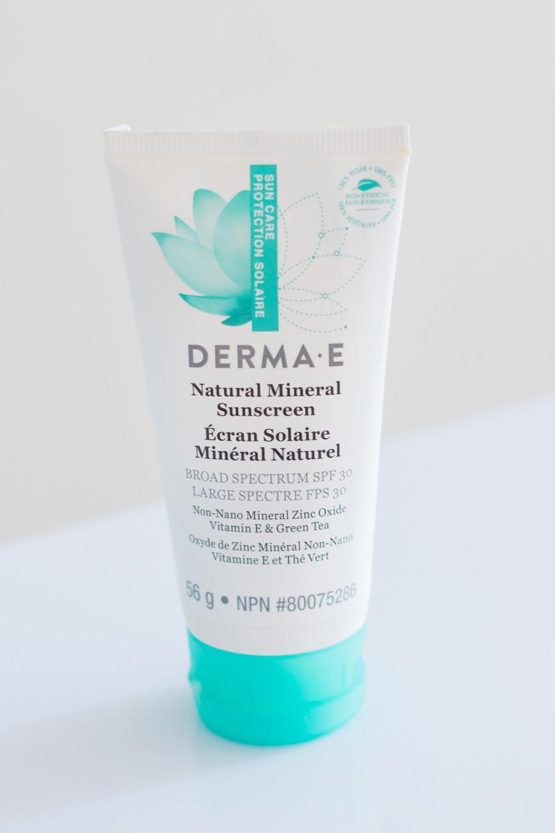 Derma E Natural Mineral Sunscreen SPF 30