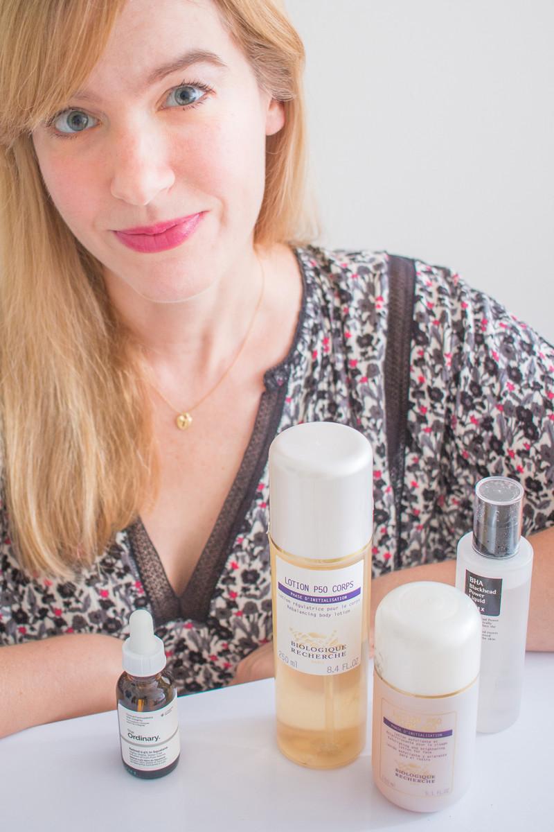 Skincare routine - fall 2017
