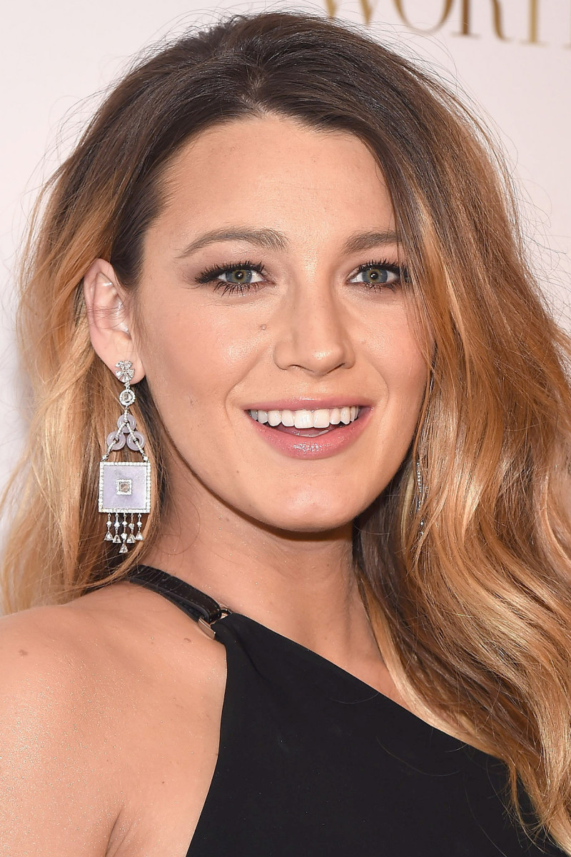 Blake Lively, Before and After - Beautyeditor