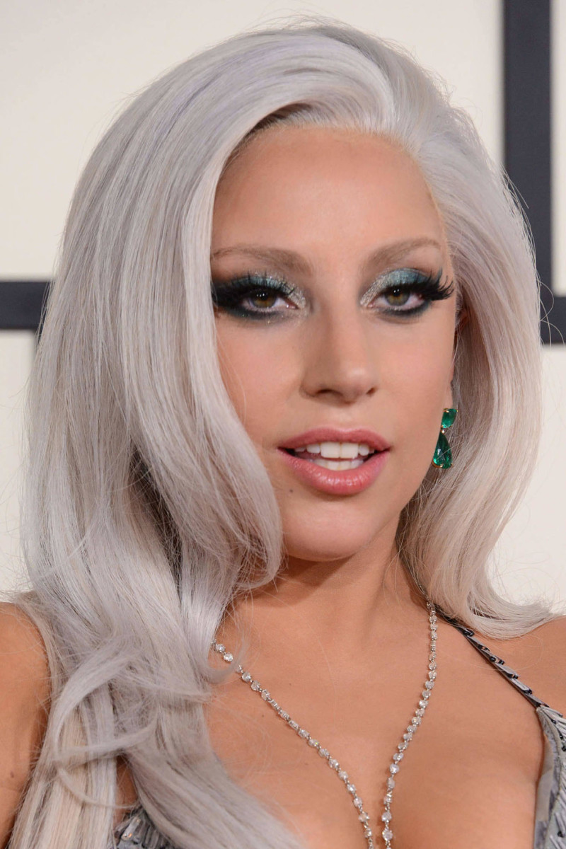Lady Gaga, Before and After - Beautyeditor Lady Gaga