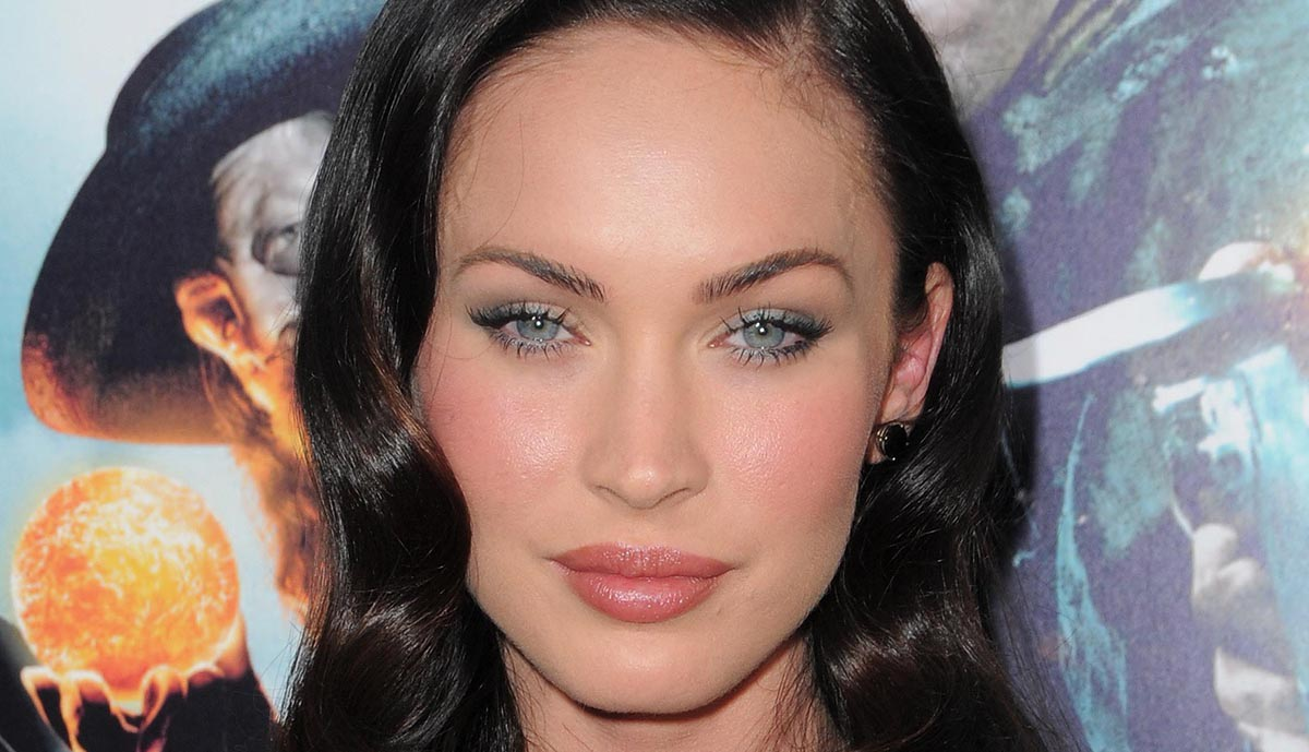 Megan Fox Eyebrows Before And After