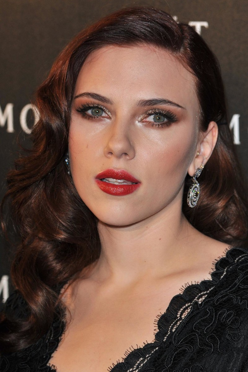 Scarlett Johansson, Moet and Chandon A Tribute to Cinema event, 2009