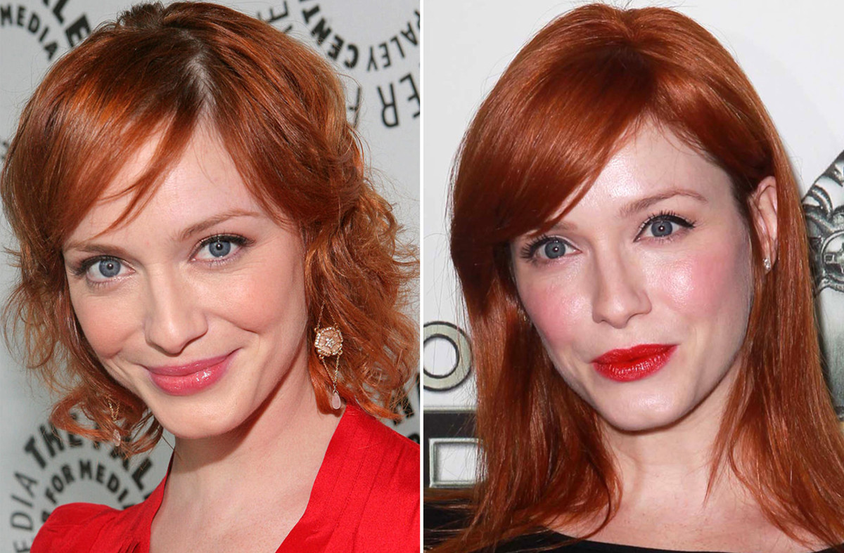Christina Hendricks before and after