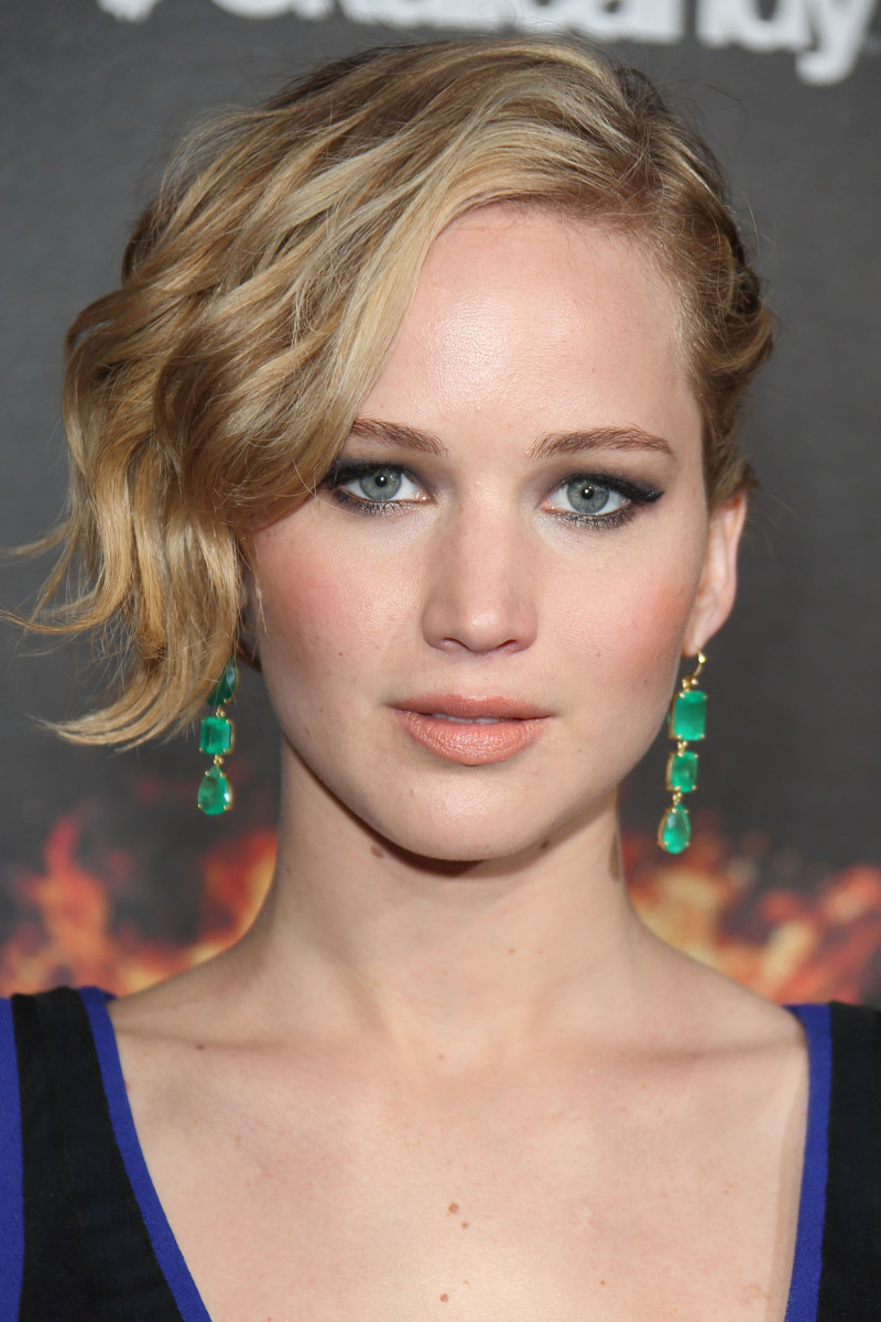 Jennifer Lawrence, The Hunger Games Mockingjay Part 1 Cannes party, 2014