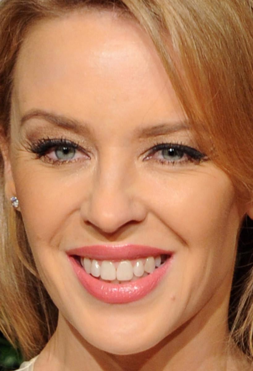 Kylie Minogue, British Fashion Awards 2014