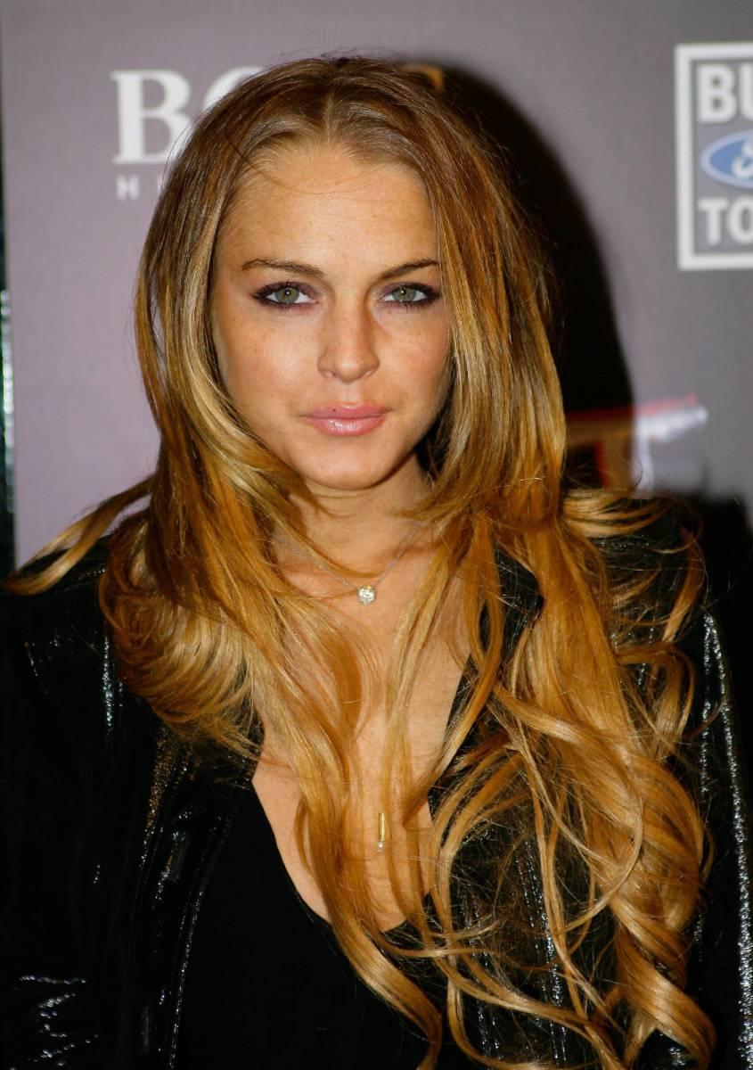 Lindsay Lohan, ESPN The Magazine Next Big Weekend Super Bowl party, 2009