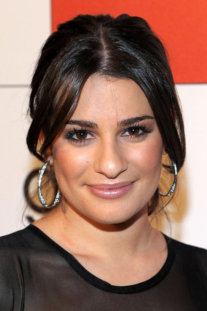 Lea Michele, Glee Golden Globe Nominations celebration, 2010