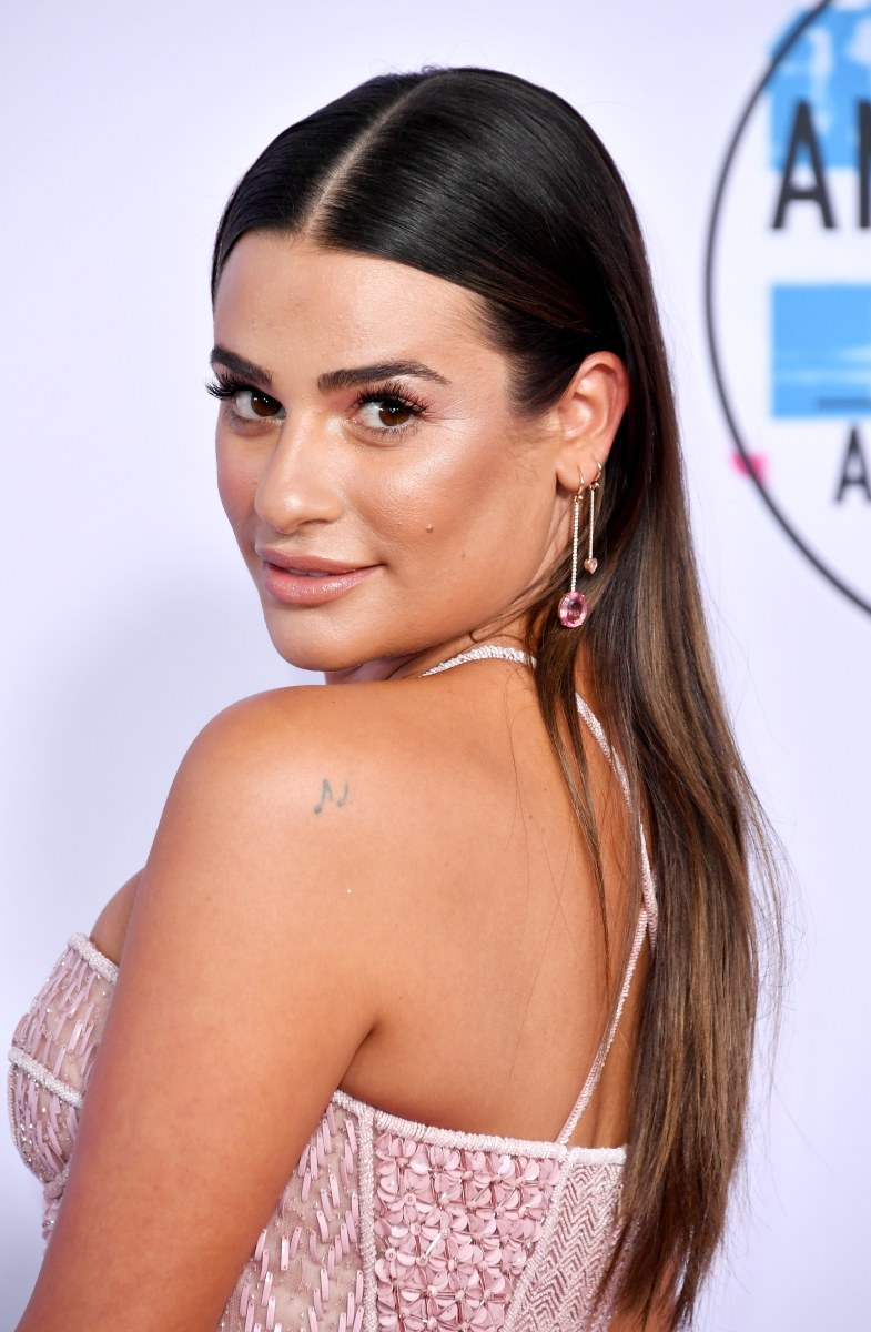 Lea Michele, American Music Awards, 2017