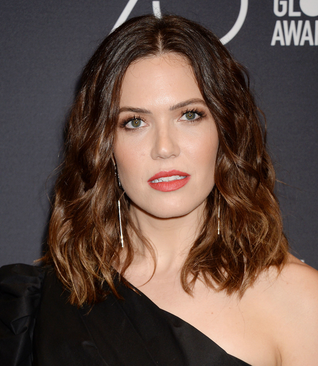 Mandy Moore, HFPA and InStyle Golden Globes 75th Anniversary Celebration, 2017