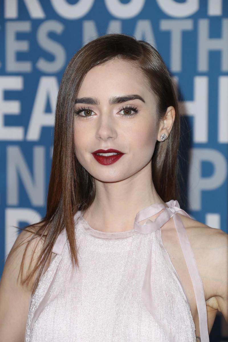 Lily Collins, Breakthrough Prize Ceremony, 2017