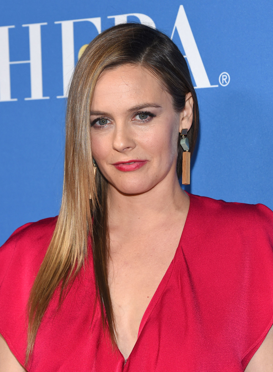 Alicia Silverstone, Golden Globes 75th anniversary screening and HFPA holiday reception, 2017