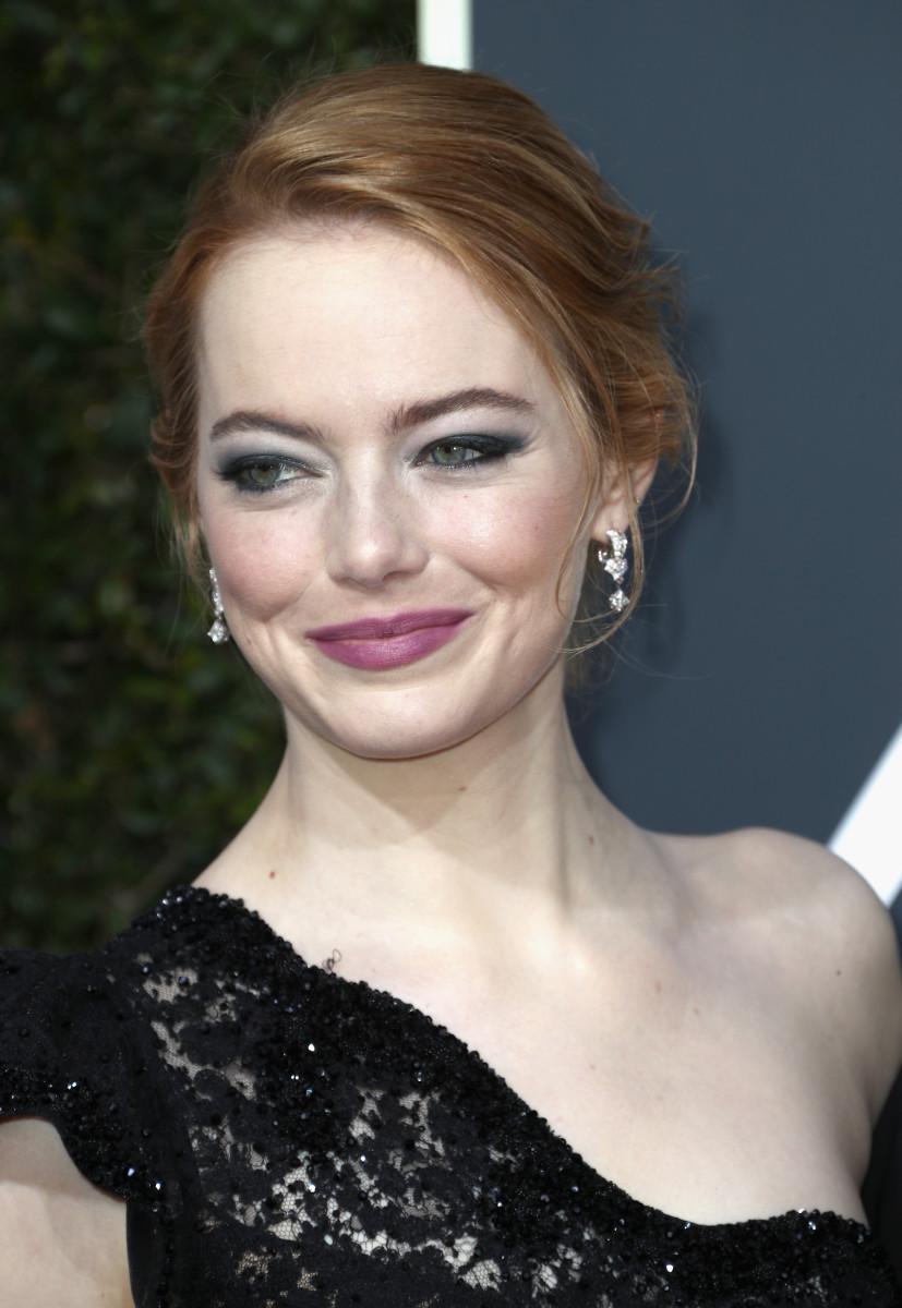 Emma Stone, Golden Globe Awards, 2018