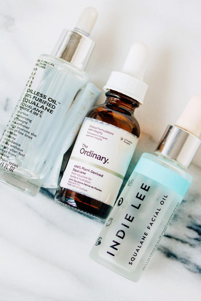 Winter skincare routine - face oils