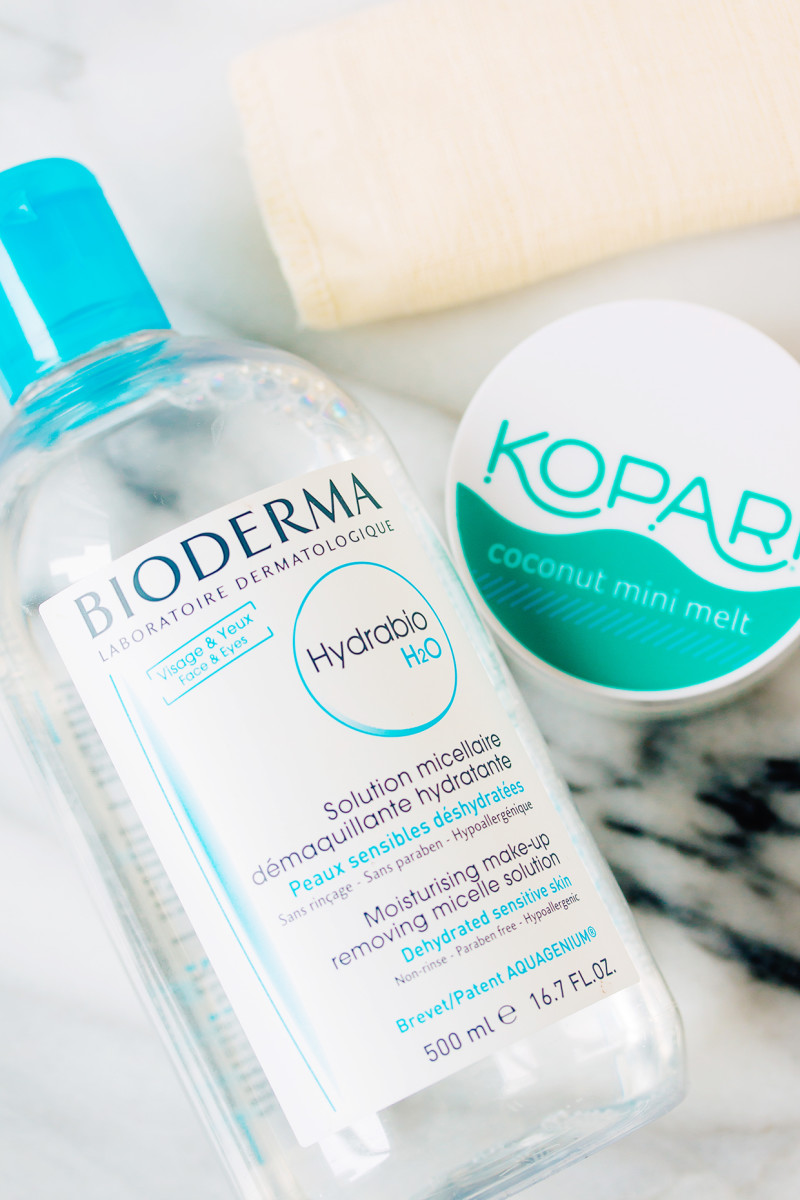 Winter skincare routine - makeup removers