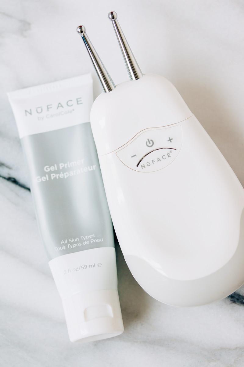 Winter skincare routine - microcurrent