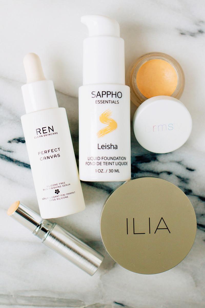 Winter skincare routine - skin makeup