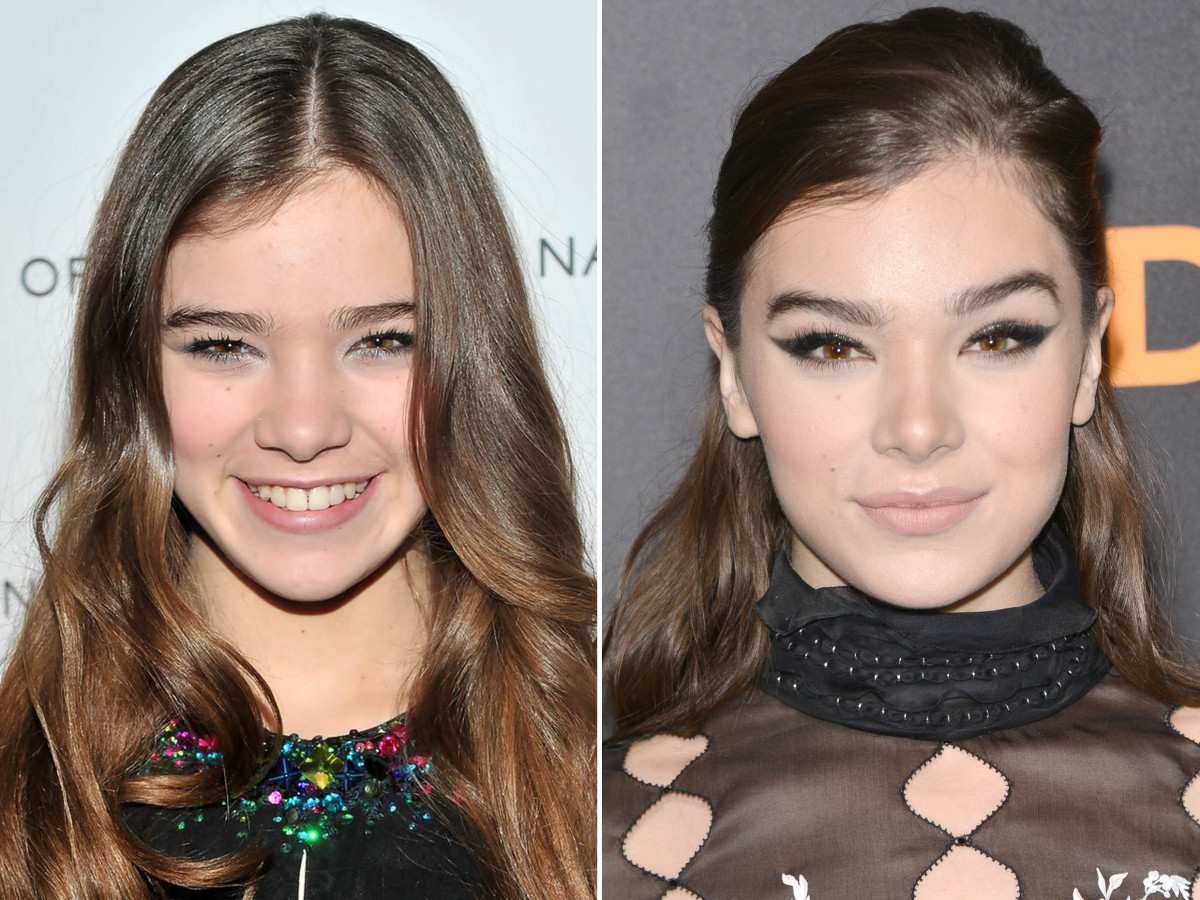 Hailee Steinfeld before and after