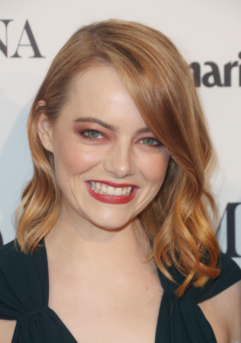 Emma Stone, Marie Claire Image Makers Awards, 2018