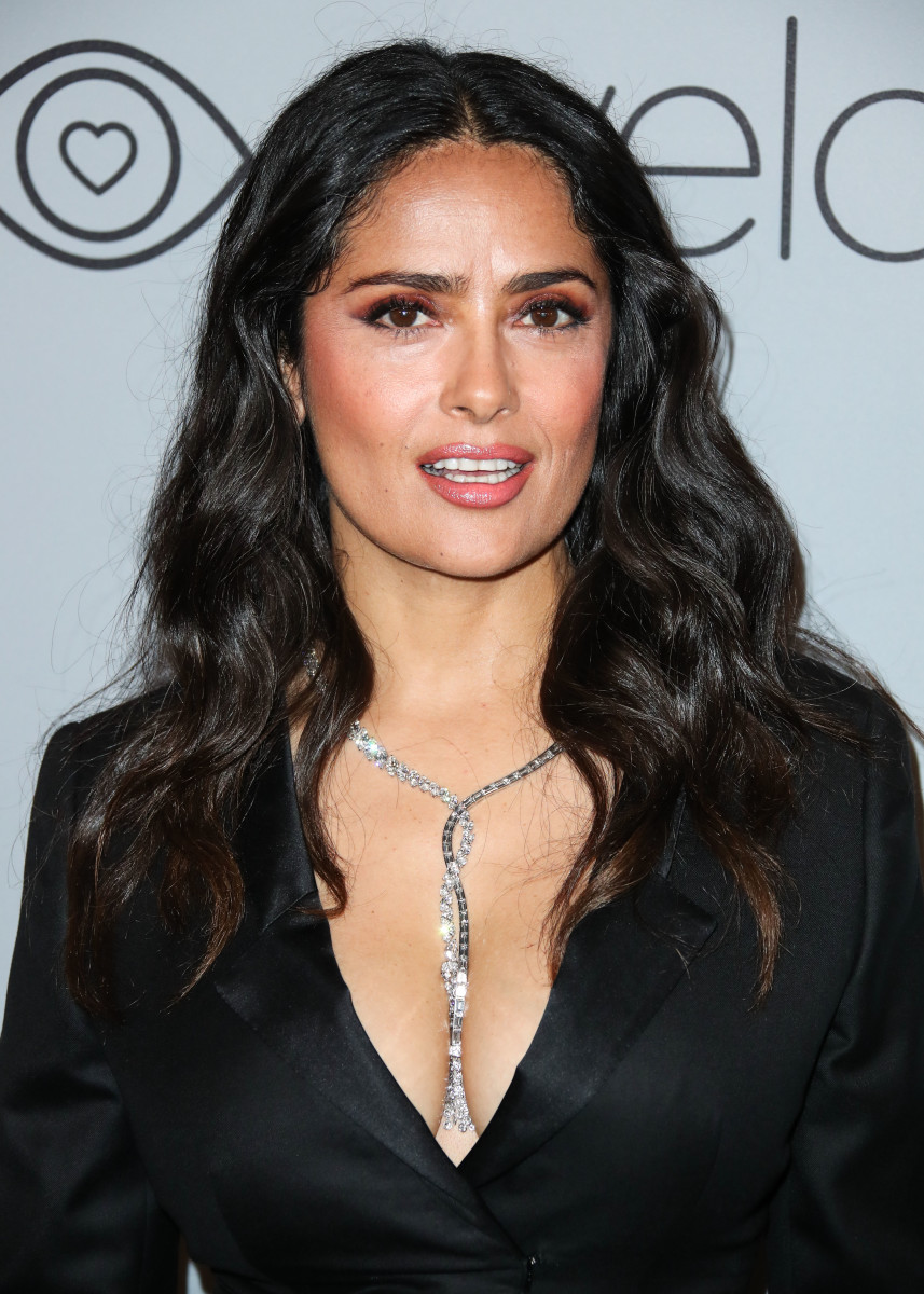 Salma Hayek, InStyle and Warner Bros. Golden Globes after-party, 2018