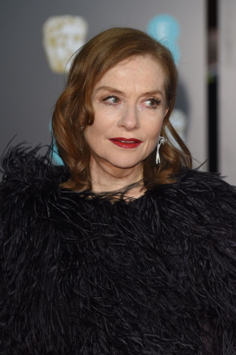 Isabelle Huppert, British Academy Film Awards, 2018
