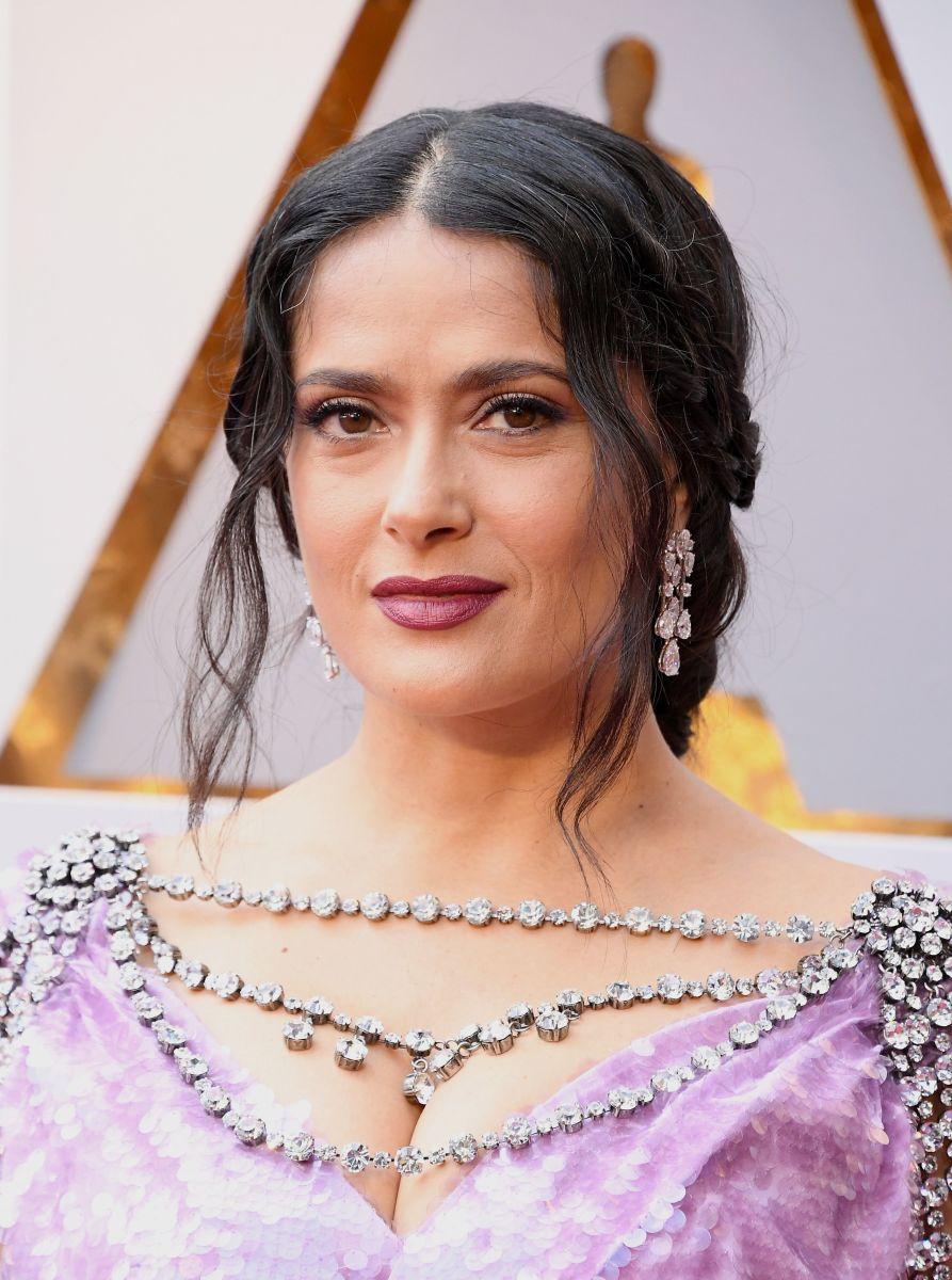 Salma Hayek, Academy Awards, 2018